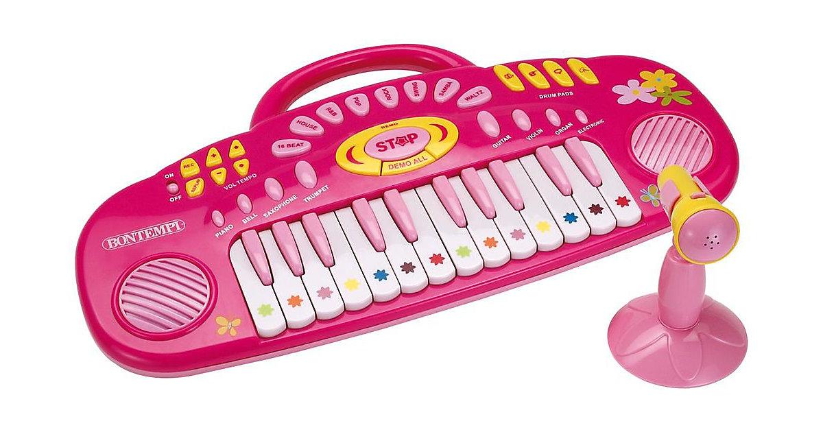 iGirl Keyboard mit Mikrofon, 24 Tasten MK 3271