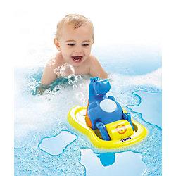 Игрушка для ванной «Бегемотик на катамаране», TOMY