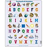 Rahmenpuzzle 26 Teile Puzzlespaß mit Buchstaben