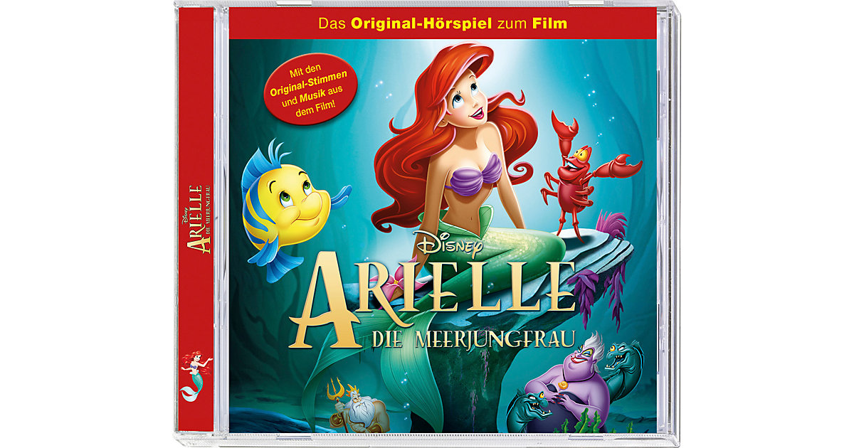 CD Disneys Arielle die Meerjungfrau (Original-Hörspiel zum Film) Hörbuch