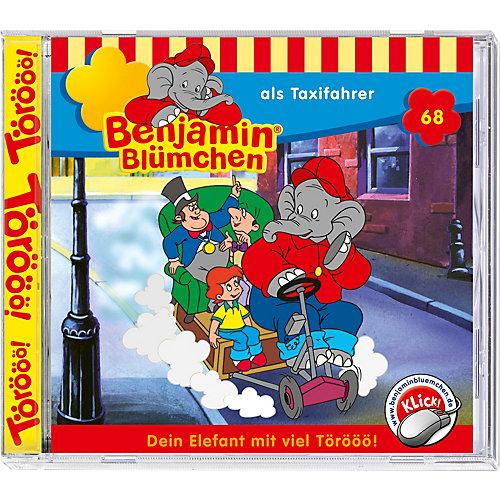 CD Benjamin Blümchen 68 (als Taxifahrer) Hörbuch