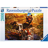 Jigsaw Pieces - 2,000 Pieces - By the Waterhole