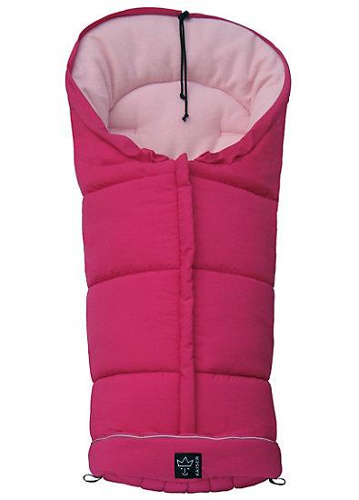 Iglu- Fußsack Fleece, pink