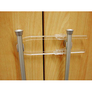 Cupboard Lock, Transparent