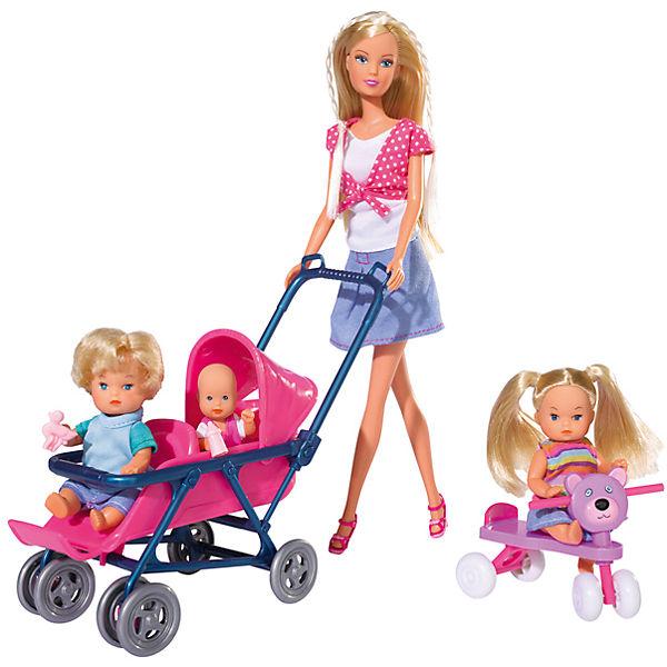"Steffi Love Набор ""Детский мир"", 4 куклы"