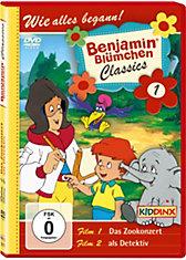 DVD Benjamin Blümchen Classic 01  (Das Zookonzert/ als Detektiv)