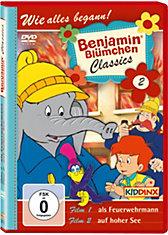 DVD Benjamin Blümchen Classic 02  (als Feuerwehrmann/ auf hoher See)