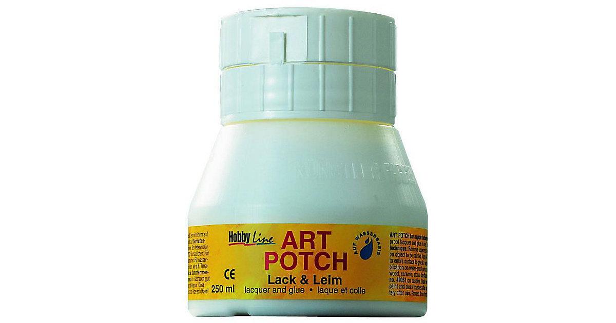 Hobby Line Art Potch Serviettenkleber & Lack matt, 250 ml