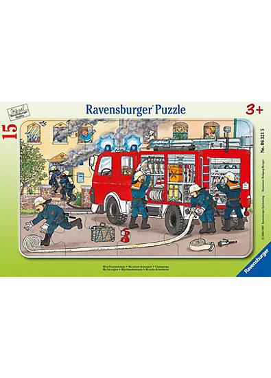 Rahmenpuzzle - 15 Teile - Mein Feuerwehrauto
