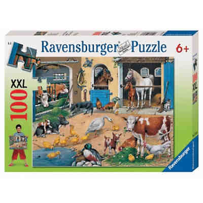 Puzzle 100 Teile XXL Am Stall