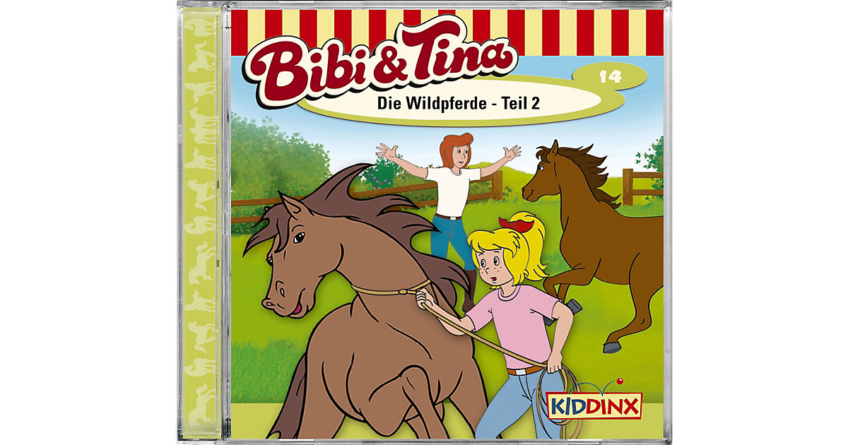 CD Bibi und Tina 14 (Die Wildpferde 01) Hörbuch