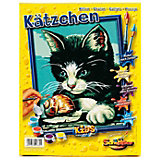 Paint by Numbers for Kids: Kitten