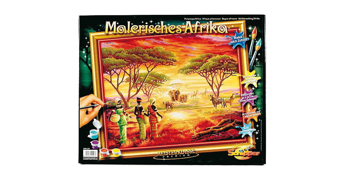 Malen nach Zahlen Malerisches Afrika
