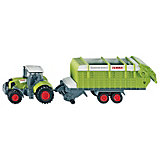 SIKU 1846 Claas Axion 850 with Loading Trailer  1:87