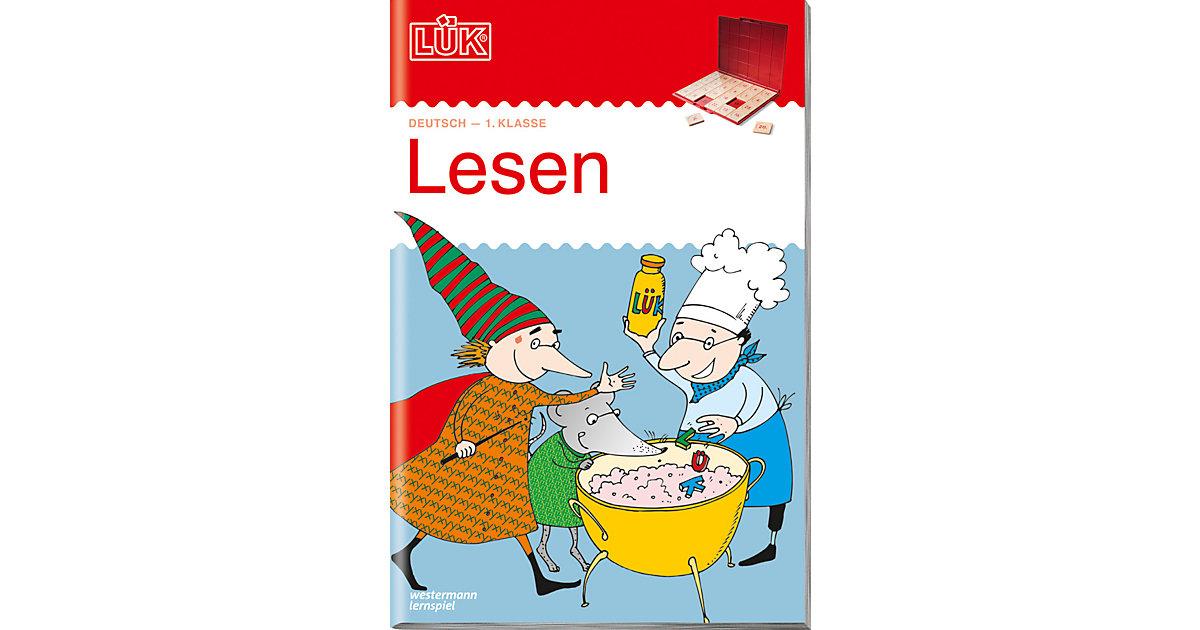 Buch - LÜK: Lesen, 1. Klasse, Übungsheft