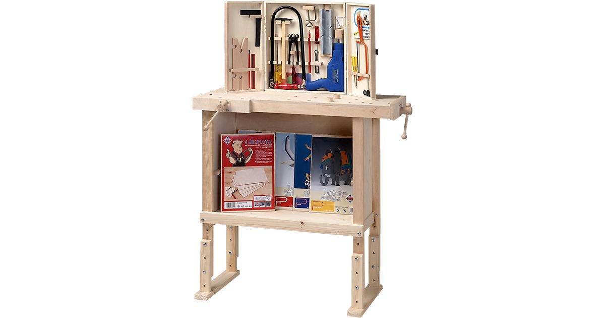 pebaro werkbank aus holz h henverstellbar preisvergleich sonstiges in baumarkt g nstig. Black Bedroom Furniture Sets. Home Design Ideas