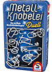 Metall-Knobelei - Metalldose