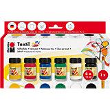 Textile Paint Starter Set, 9 Pieces