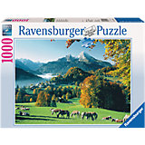 Puzzle 1,000 Pieces, Berchtesgaden with Watzmann