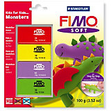 FIMO soft Kits for Kids Monsters