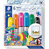 NORIS Club Gelmalstifte effect colours basic, 6 Farben
