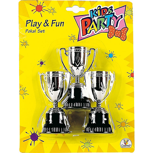 Party fun pokale 3 st ck party fun mytoys for Party utensilien
