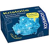 Mitbringexperiment: Kristalle Blau