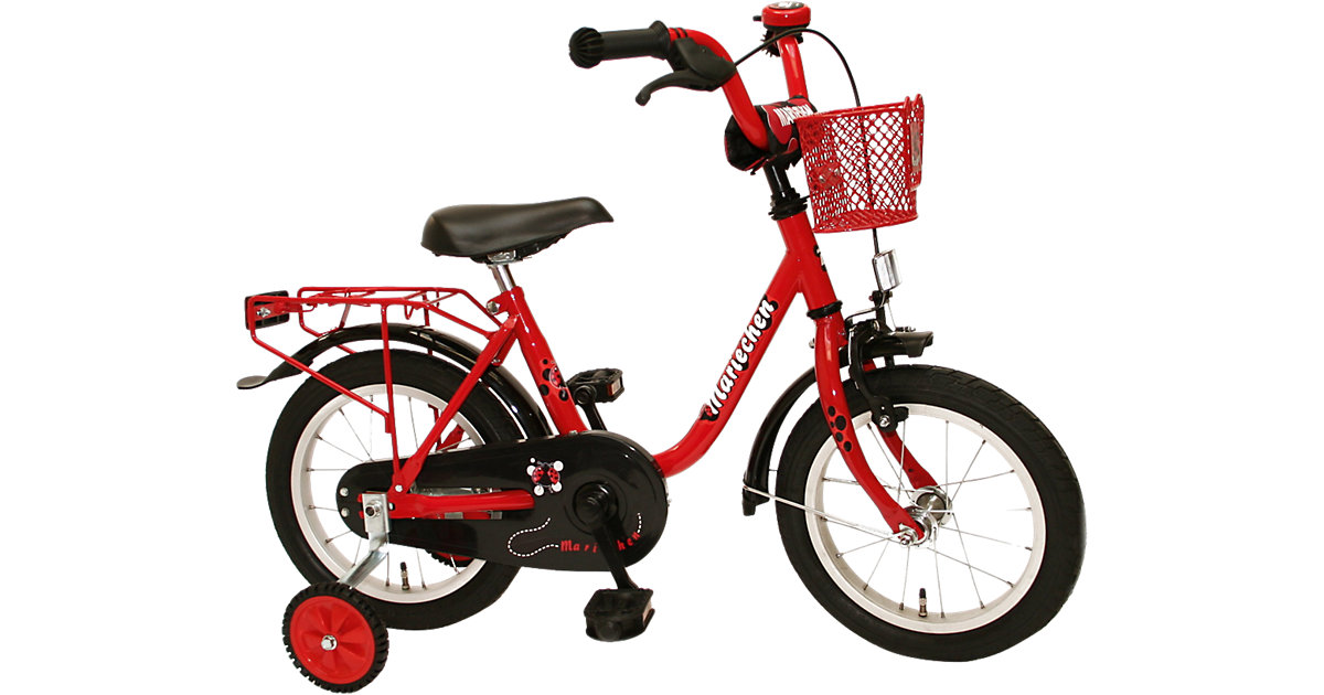Fahrrad Mariechen rot Gr. 12