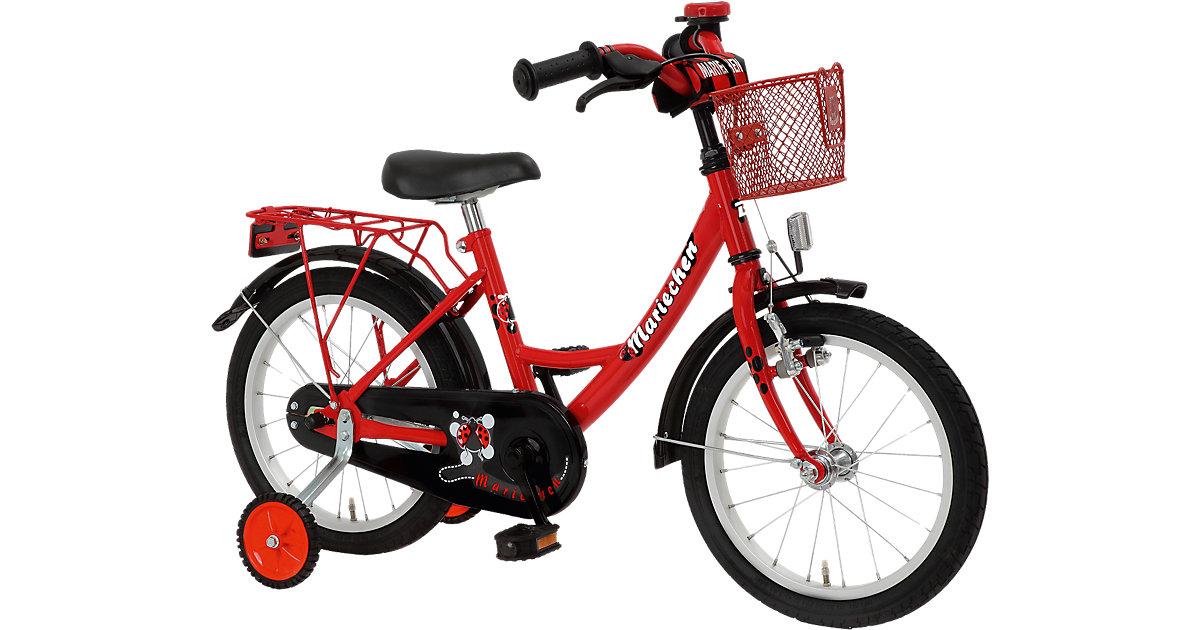 Fahrrad Mariechen rot Gr. 16