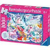 The Most Beautiful Unicorns, Glitter Jigsaw Puzzle, 100 pieces