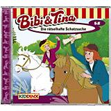 CD Bibi und Tina 58 - Die rätselhafte Schatzsuche