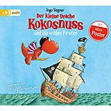 Der kleine Drache Kokosnuss und die wilden Piraten, Audio-CD