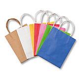 Papiertüten 12 x 15 cm, farbig sortiert, 10 Stück