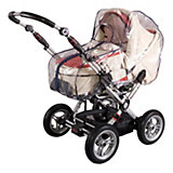 Rain Cover for Prams, with Zip, Navy Blue