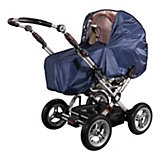 Rain Cover for Prams, Nylon, Navy Blue