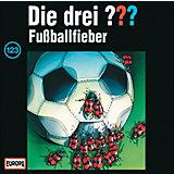 CD Die Drei ??? 123: Fußballfieber