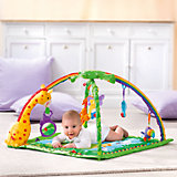Fisher-Price - Rainforest deluxe Activity Krabbeldecke mit Spielbogen