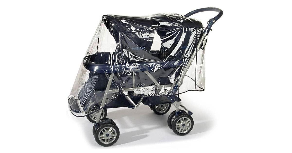 Regenverdeck Geschwisterwagen transparent Kinder