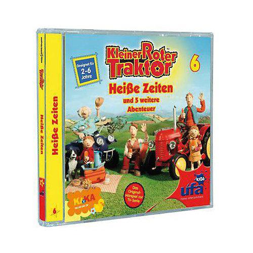 CD Kleiner Roter Traktor 06: Heiße Zeiten Hörbuch