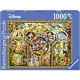 Puzzle, 1,000 Pieces, The Most Beautiful Disney Themes
