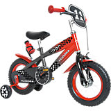 Bike 12 Inch Grey / Red with Stabilisers