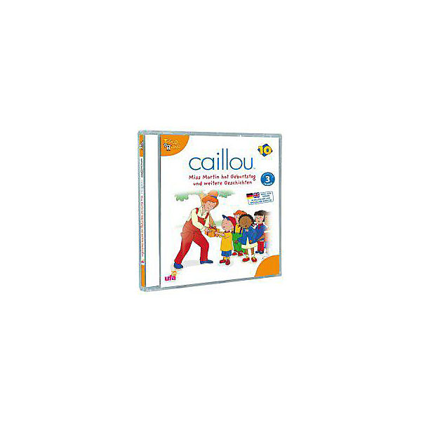 CD Caillou 10: Miss Martin hat Geburtstag