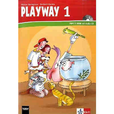Playway to English, Ausgabe Nordrhein-Westfalen, Neubearbeitung: 1. Schuljahr, Pupil's Book m. Audio-CD (Att8:BandNrText: 588034)