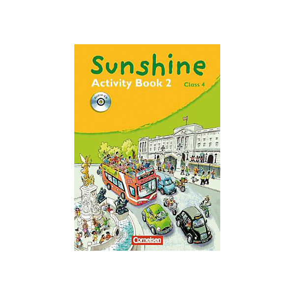 Sunshine, Allgemeine Ausgabe: Class 4, Activity Book, m. Audio-CD (BandNr.2)