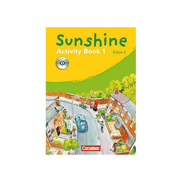 Sunshine, Allgemeine Ausgabe: Class 3, Activity Book, m. Audio-CD (BandNr.1)