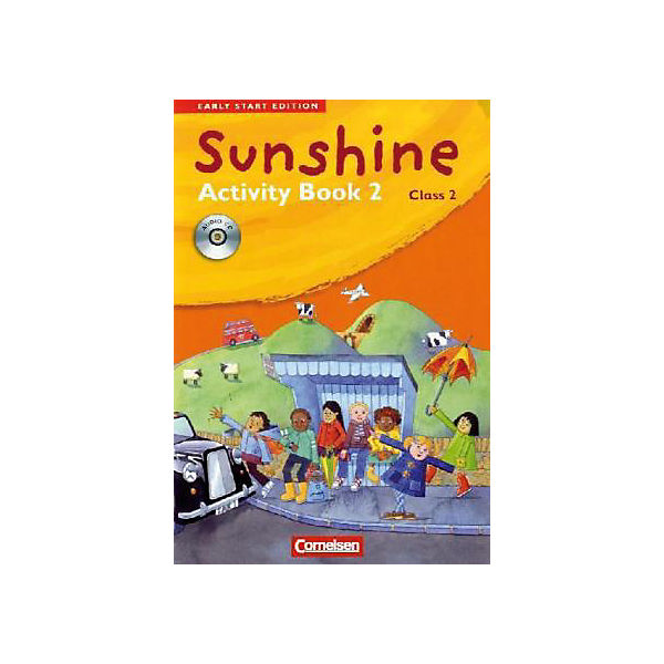 Sunshine - Early Start Edition: Klasse 2, Activity Book, m. Lieder-/Text-Audio-CD (Att8:BandNrText: 346439)