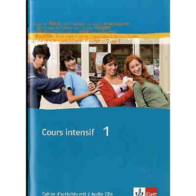 Cours intensif: Cahier d' activities, m. 2 Audio-CDs (BandNr.1)