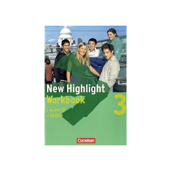 New Highlight, Hauptschule: 7. Schuljahr, Workbook m. Audio-CD u. CD-ROM (BandNr.3)
