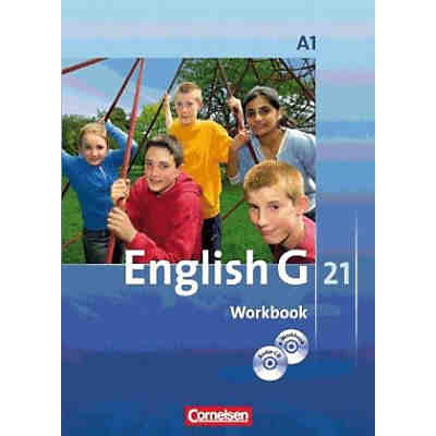 English G 21, Ausgabe A: 5. Schuljahr, Workbook m. CD-ROM u. Audio-CD (BandNr. 1)
