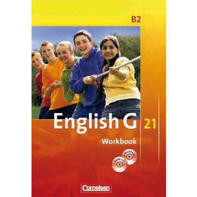 English G 21, Ausgabe B: 6. Schuljahr, Workbook m. CD-ROM (e-Workbook) u. Audio-CD (BandNr. 2)